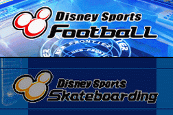 2 Games in 1 - Disney Sports - Football + Disney Sports - Skateboarding