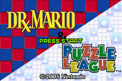 2 Games in 1 - Dr. Mario & Puzzle League