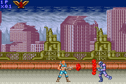 Contra Advance - The Alien Wars EX
