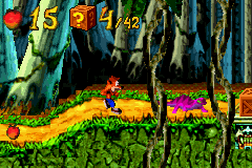 Crash Bandicoot Advance