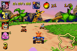 Crash Bandicoot Bakusou Nitro Cart