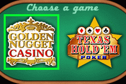 2 Games in 1 - Golden Nugget Casino + Texas Hold'em Poker