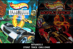 2 Games in 1 - Hot Wheels - Stunt Track Challenge + Hot Wheels - World Race