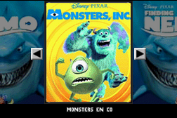 2 Games in 1 - Monsters en Co. + Finding Nemo
