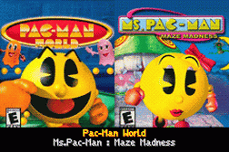 2 Games in 1 - Pac-Man World + Ms. Pac-Man - Maze Madness