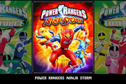 2 Games in 1 - Power Rangers - Ninja Storm + Power Rangers - Time Force