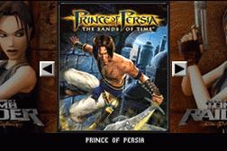2 Games in 1 - Prince of Persia - The Sands of Time + Lara Croft Tomb Raider - The Prophecy