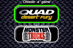 2 Games in 1 - Quad Desert Fury + Monster Trucks