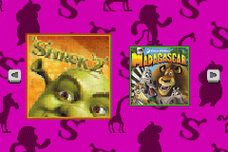 2 Games in 1 - Shrek 2 + Madagascar
