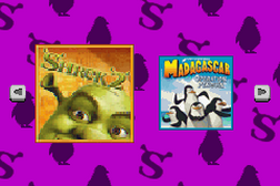 2 Games in 1 - Shrek 2 + Madagascar - Operation Penguin