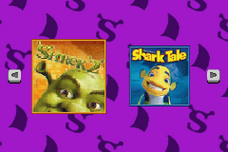2 Games in 1 - Shrek 2 + Shark Tale