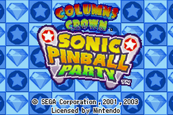 2 Games in 1 - Sonic Pinball Party + Columns Crown