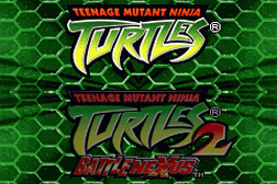 2 Games in 1 - Teenage Mutant Ninja Turtles + Teenage Mutant Ninja Turtles 2 - Battle Nexus