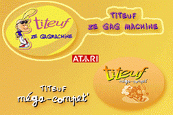 2 Games in 1 - Titeuf - Ze Gagmachine + Titeuf Mega Compet