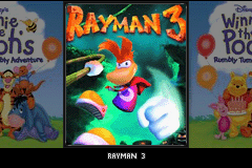 2 Games in 1 - Winnie the Pooh's Rumbly Tumbly Adventure + Rayman 3