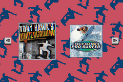 2 in 1 Game Pack - Tony Hawk's Underground + Kelly Slater's Pro Surfer
