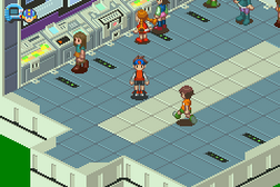 Megaman Battle Network 3 White