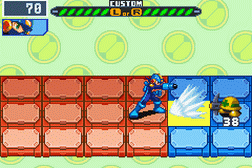 Megaman Battle Network 6 Cybeast Falzar